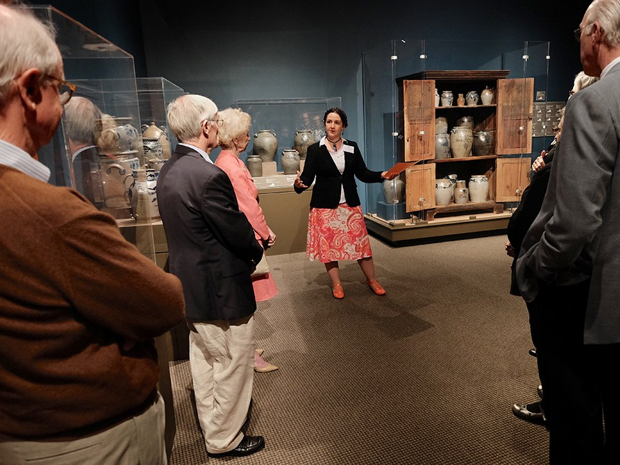 The Decorative Arts Trust held a conference event at MESDA in Winston-Salem, NC on 4/21/16.